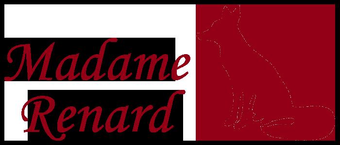 logo madame renard rouge
