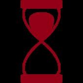 logo sablier temps